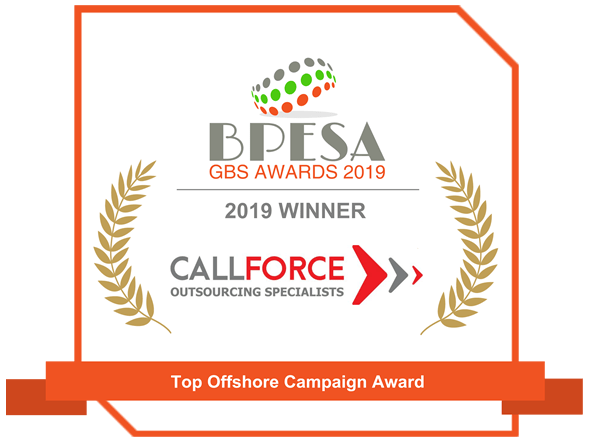 Company Awards CALLFORCE 1