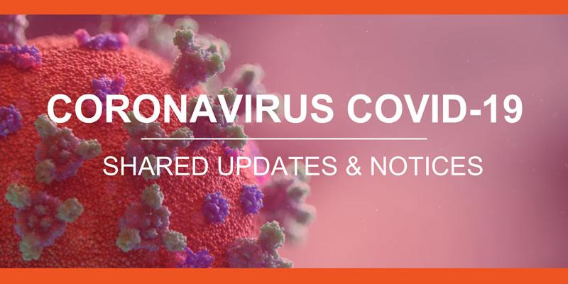 Coronavirus website lightbox sized