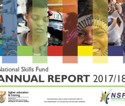 Department of Higher Education and Training (DHET): National Skills Fund Annual Report 2017/18