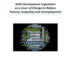 Human Science Research Council (HSRC): Skills Development Legislation as a Lever of Change to Reduce Poverty, Inequality and Unemployment