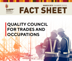 SA Board for People Practice (SABPP): Fact Sheet: QCTO