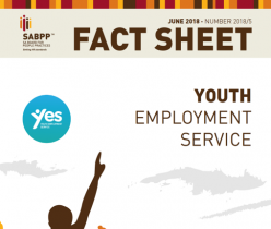 SA Board for People Practice (SABPP): Fact Sheet: Youth Employment Service (YES)