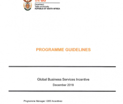 2018 Incentive Guidelines for the Global Business Services Sector
