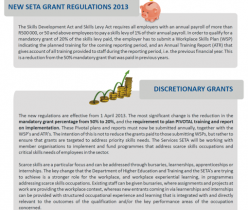 Services SETA Grant Regulation