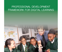 Department of Basic Education (DBE): Professional Development Framework for Digital Learning