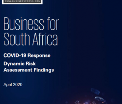 B4SA: COVID-19 Response - Dynamic Risk Assessment Findings