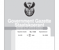 Government Gazette 12 May 2020 No.11109 DSMD