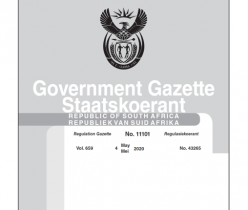Government Gazette 04 May 2020, No.43265 Department of Labour