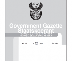 Government Notice 08 April 2020 Department of Labour