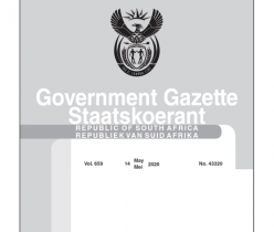 Government Notice 14 May 2020 No.43320 COGTA
