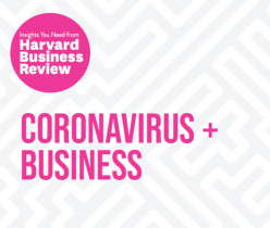 Harvard Business Review: Coronavirus + Business
