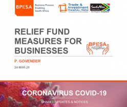TIKZN & BPESA: Relief Fund Measures for Businesses