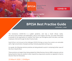 Coronavirus BPESA Best Practice Guide 23 March 2020 15h00