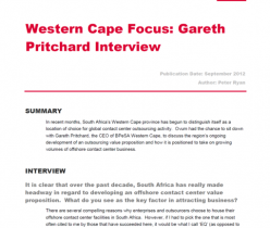 Gareth Pritchard Interview 2012