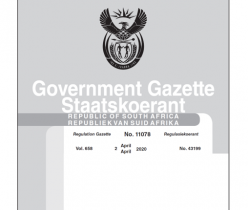 Government Gazette 02 April 2020, No.11078