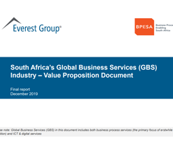 South Africa's Global Business Services (GBS) Industry – Value Proposition Document